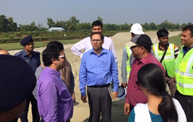 আখাউড়া-আগরতলা রেল প্রকল্প পরিদর্শনে ভারতের প্রতিনিধিদল