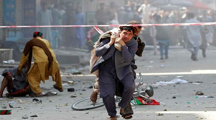 Photo of আফগানিস্তানে প্রেসিডেন্টের সমাবেশে বিস্ফোরণ