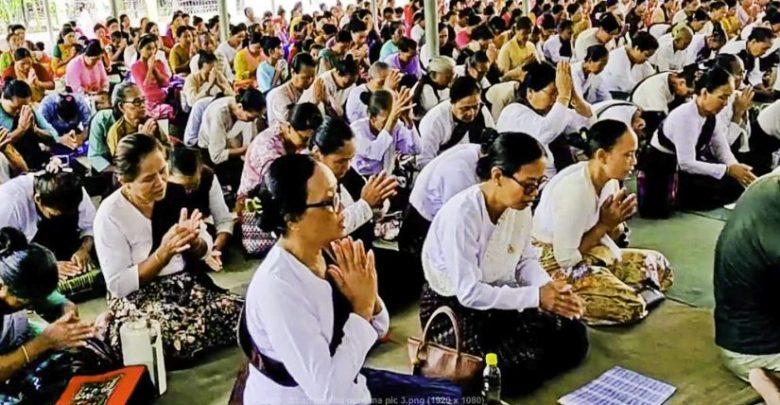 Photo of বান্দরবানে বৌদ্ধ ধর্মাবলম্বীদের মধু পূর্ণিমা উদযাপন