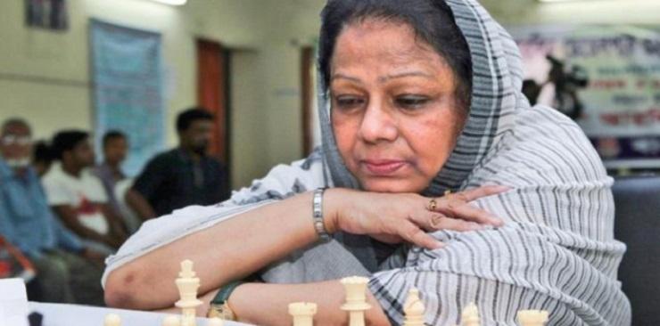Photo of নারী দাবায় চ্যাম্পিয়ন রানী হামিদ