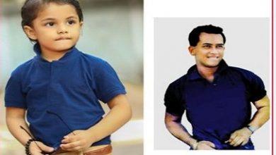Photo of সালমান শাহ'র স্টাইলে তিন বছরের আগ্নিক