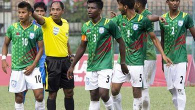 Photo of টানা ব্যর্থতার মাঝে বাংলাদেশ ফুটবল দল