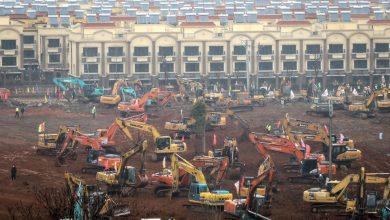 Photo of চীনে ১০ দিনে এক হাজার শয্যার হাসপাতাল নির্মাণ