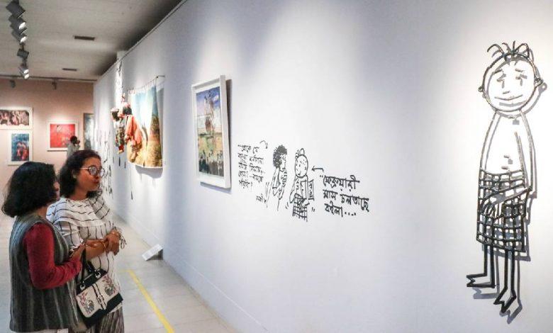 Photo of শিল্পকলায় চলছে ঢাকা আর্ট সামিটের পঞ্চম আসর