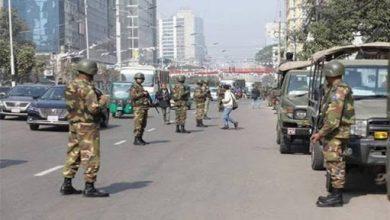Photo of রাজধানীতে আইন-শৃঙ্খলা বাহিনীর কঠোর নজরদারি