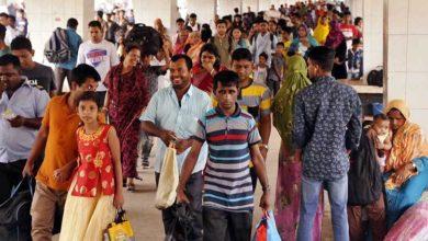 Photo of স্বাস্থ্যবিধি তোয়াক্কা না করে রাজধানীতে ফিরছেন কর্মজীবীরা