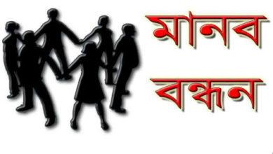 Photo of দেশের বিভিন্নস্থানে সাংবাদিক নির্যাতনের প্রতিবাদে মানববন্ধন