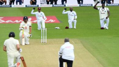 Photo of বৃষ্টির কারণে সাউদাম্পটন টেস্টে ইংল্যান্ড ও ওয়েস্ট ইন্ডিজের খেলা ১০৬ বলেই শেষ
