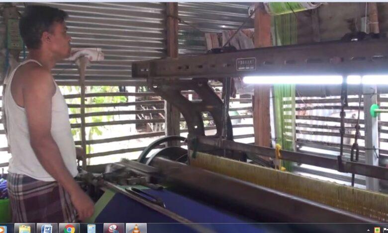 Photo of করোনার প্রভাবে হুমকির মুখে পড়েছে মানিকগঞ্জের তাঁতশিল্প