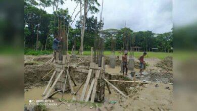 Photo of বাউফলে বিদ্যালয় ভবন নির্মাণ কাজে অনিয়ম