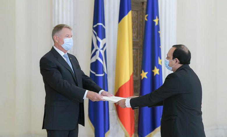 ROMANIA AMBASSADOR MEETS PRESIDENT 3