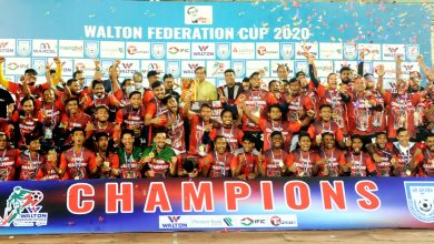 WALTON Federation Cup 2020 21 Final Bashundhara King vs Saif Sporting Club Photos 2